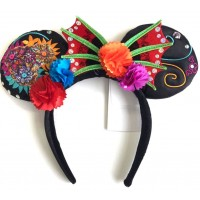 Disney Day of The Dead Headband ears