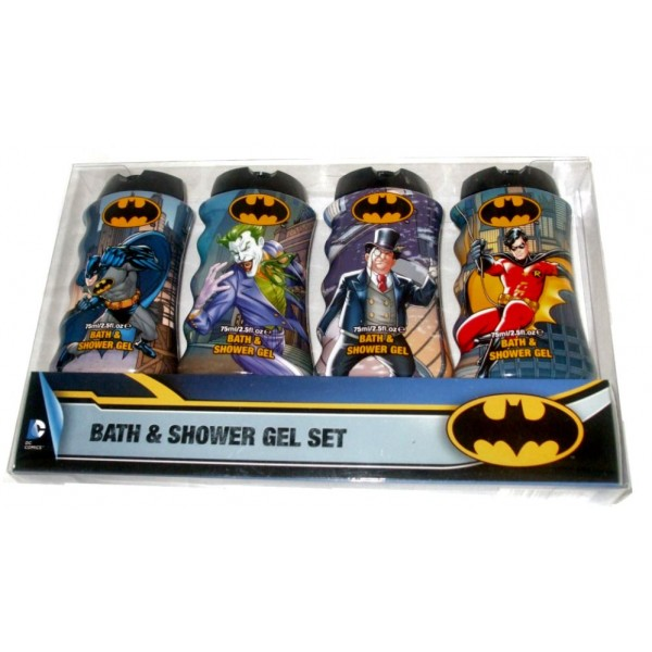 Batman Men's Kid's Bath Shower Gel Set