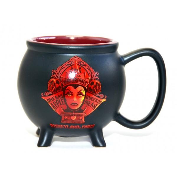 Evil Queen in red Cauldron Mug, Disneyland Paris Original