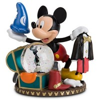 Disney Snow Globe - Costume Chest Mickey Mouse