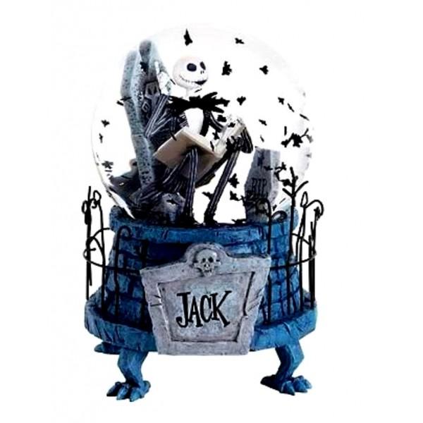 jack the nightmare before christmas snow globe
