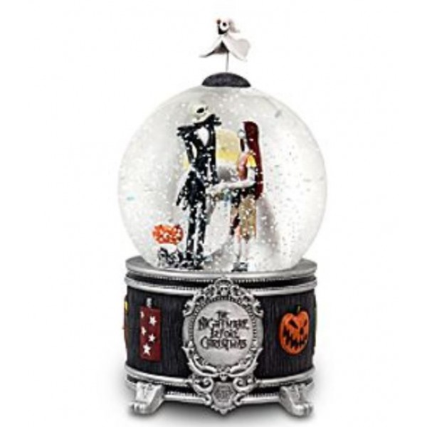 Sally and Jack The Nightmare Before Christmas Snow Globe