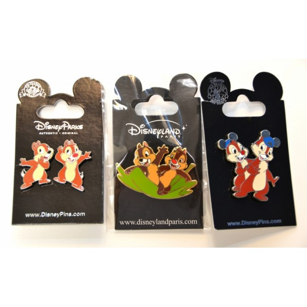 Chip & Dale Trading Pins Set
