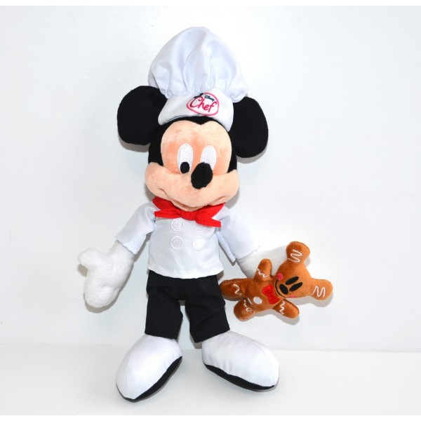 Disney Mickey Mouse Chef Medium Soft Toy, Disneyland Paris