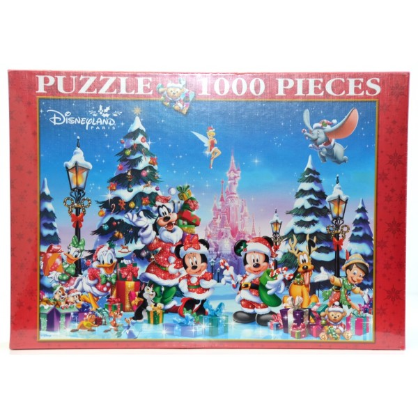 1000 Piece Christmas Puzzle, Disneyland Paris