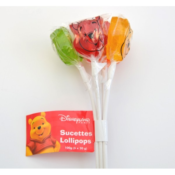 Disneyland Paris Pooh Lollipops