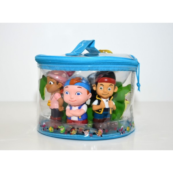 Jake and the Never Land Pirates Bath Toys