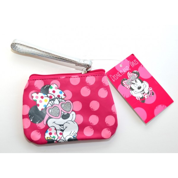Minnie Mouse Pink Coin Purse