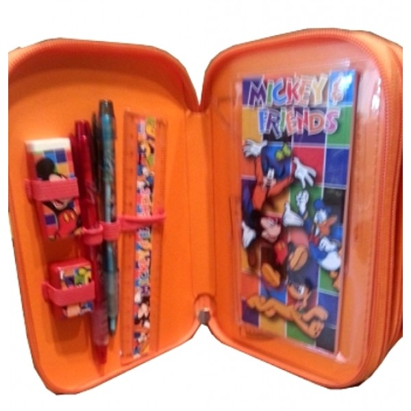 Disney Mickey and Friends Filled Pencil Case