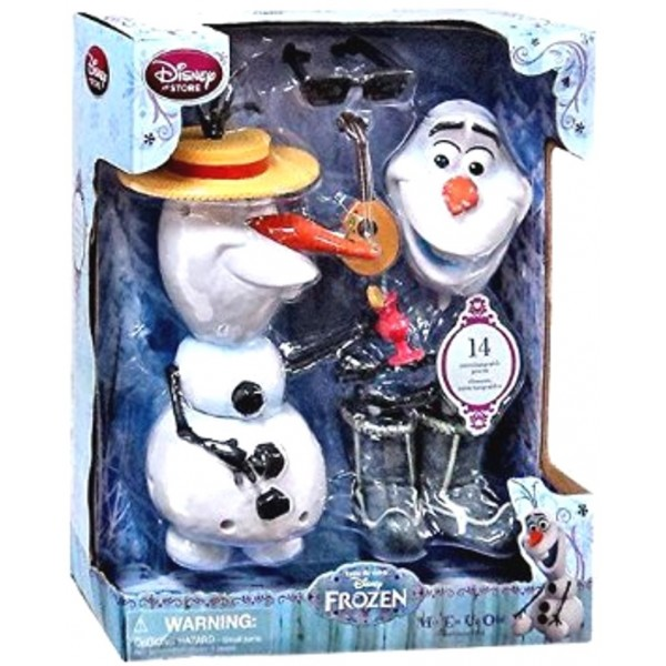 Disney Frozen Mix 'Em Up Olaf Figure Play set