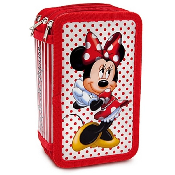 Minnie Mouse Stationery Supply Pencil Case