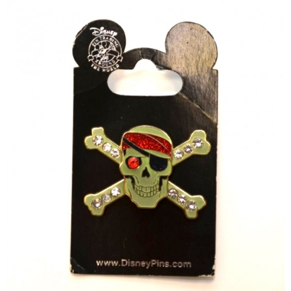 Disney Pirates of the Caribbean Jewelled Pin