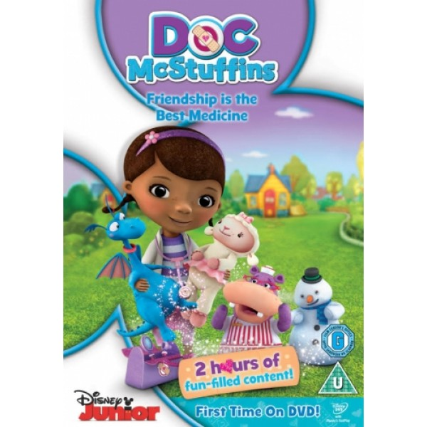 Doc McStuffins Friendsship is the Best Medicine DVD
