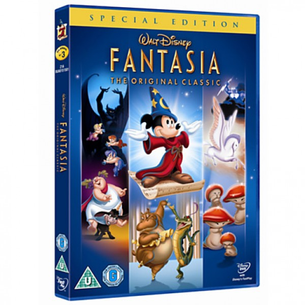 Fantasia Special Edition DVD