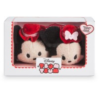 Mickey and Minnie Valentine Tsum Tsum Scented Mini Soft Toys