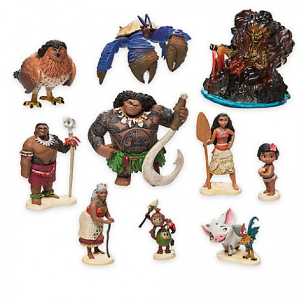 Moana Deluxe Figurine Play set