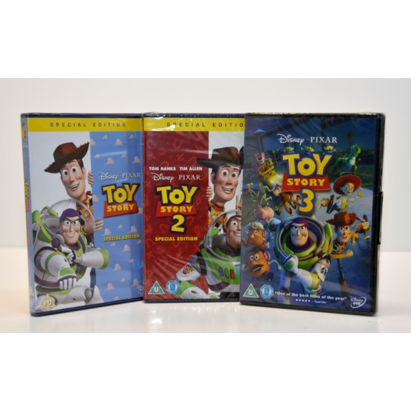 Toy Story 3 movie set (3 x DVD)