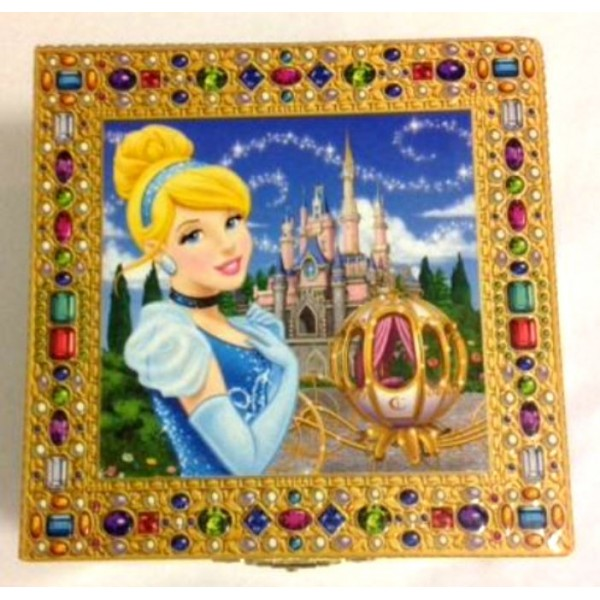 Cinderella Musical Jewellery Box