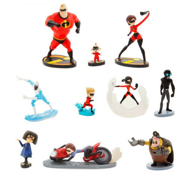 Disney Incredibles 2 Deluxe Figurine Playset