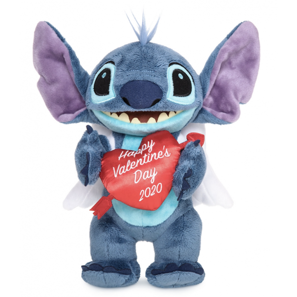 Stitch Valentine's Day Cupid Plush 2020, Disneyland Paris
