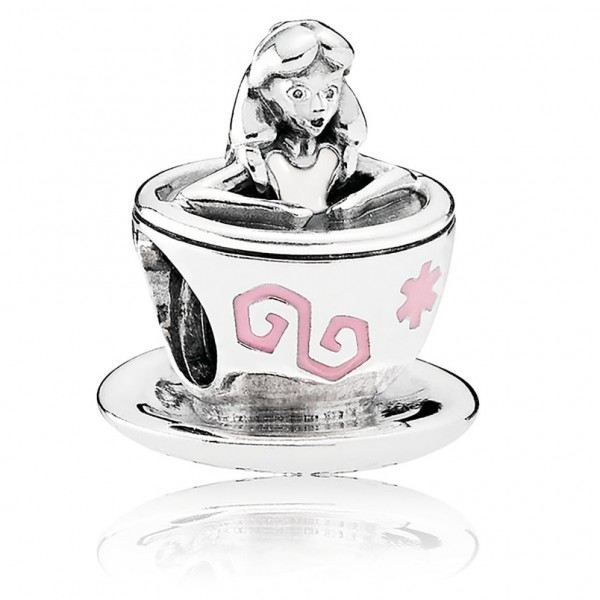 Disney Pandora Alice in Teacup Charm