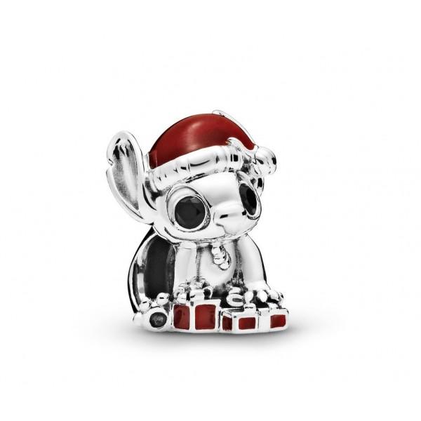 Disney Stitch Christmas Charm by Pandora, Disneyland Paris Original