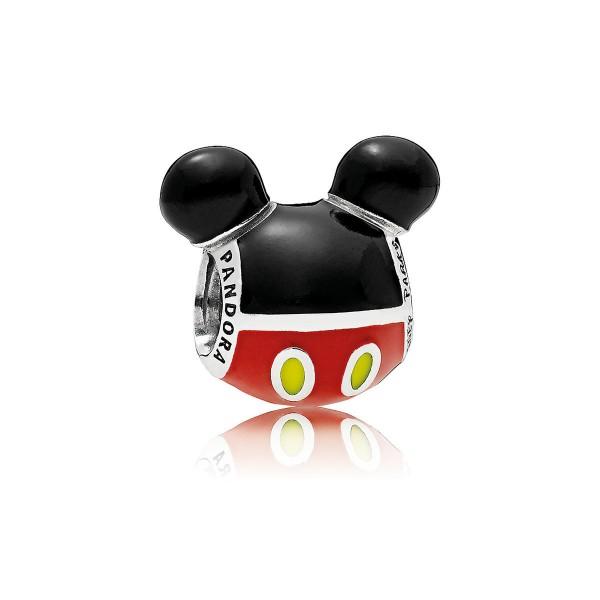 Disney Pandora Mickey Mouse Silhouette Icon Charm