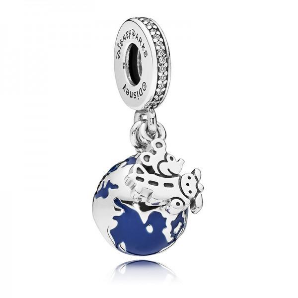Mickey Mouse Globe Charm by Pandora Jewlery