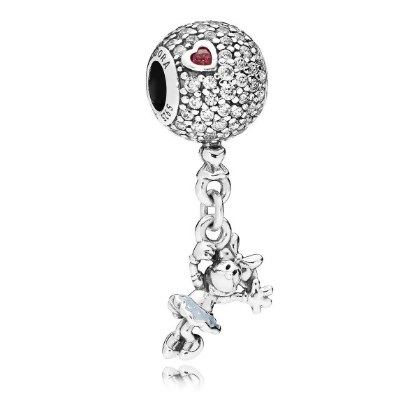 Disney Minnie Mouse Dangle Charm by Pandora