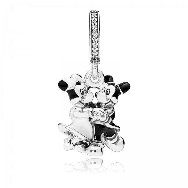 Mickey and Minnie Mouse Dangle Charm by Pandora