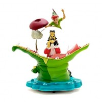 Disney Peter Pan Tic Tac Musical Snow Globe