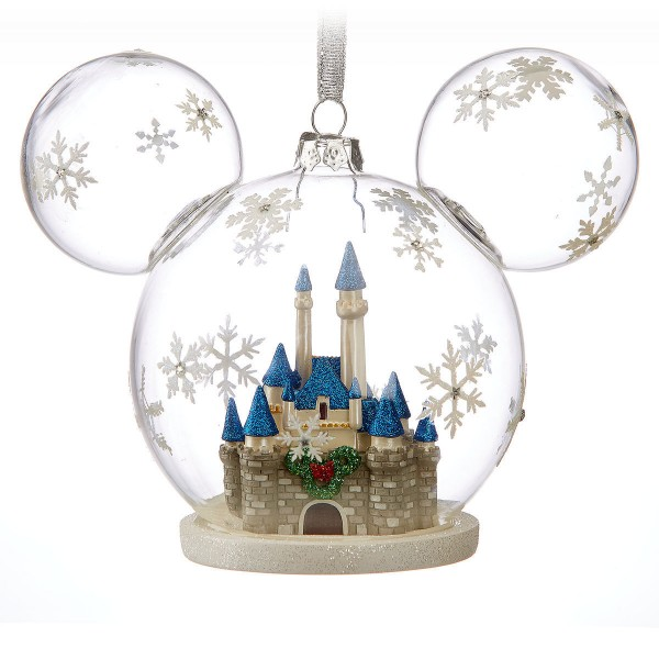 Disney Mickey Mouse Fantasyland Castle Ornament