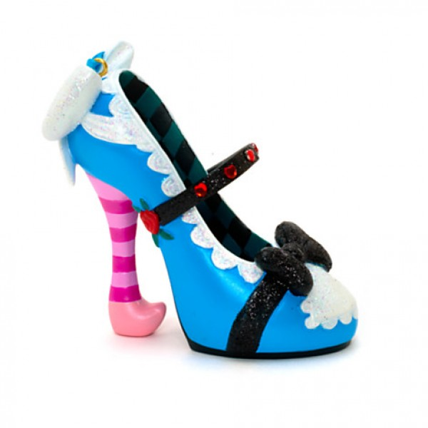 Alice - Alice in Wonderland - Miniature Decorative Shoe