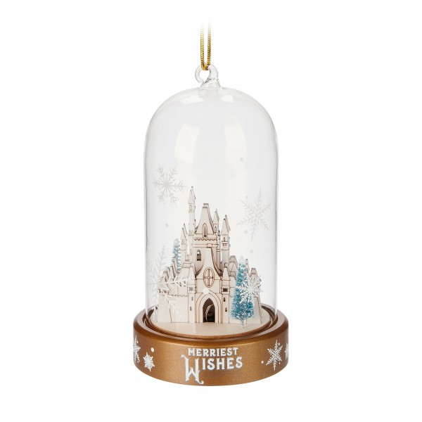 Castle Light-Up Ornament, Disneyland Paris