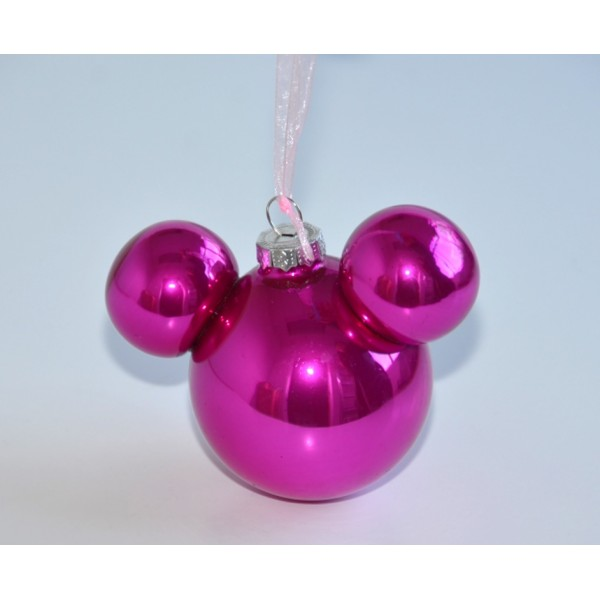 Disneyland Paris Minnie Mouse Pink Bauble