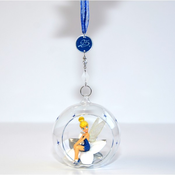 Disneyland Paris 25th Anniversary Tinker Bell Christmas Bauble