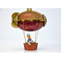Donald Duck in Hot air Balloon Christmas Ornament, Disneyland Paris 25th Anniversary