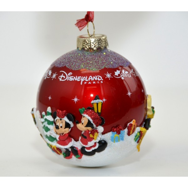 Disneyland Paris Mickey Mouse and Friends Bauble