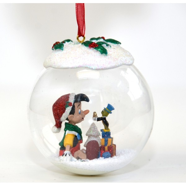 Pinocchio Christmas Bauble Ornament