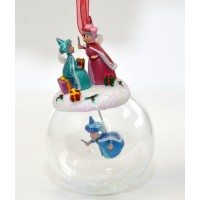Three good fairies from Sleeping Beauty Christmas Bauble