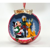 Disney Mickey and Pluto Christmas decoration