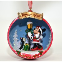 Disney Minnie and Figaro Christmas decoration
