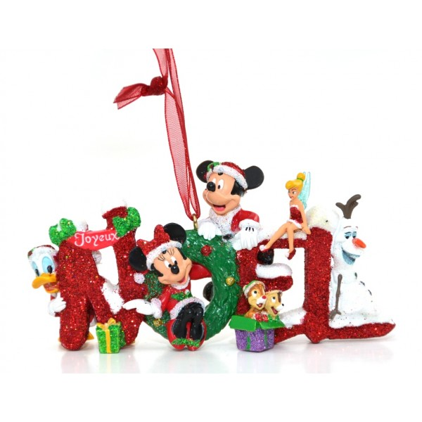 Mickey and Friends Noel Christmas Decoration, Disneyland Paris