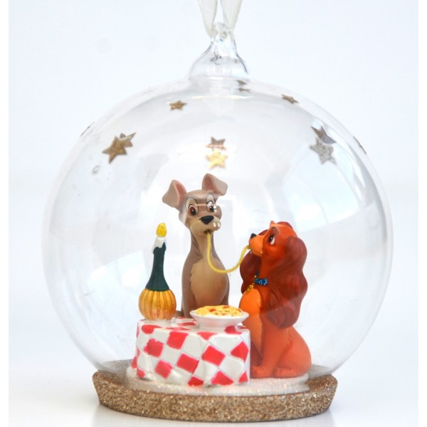 Disney Lady and the Tramp - Bella Notte Christmas Bauble