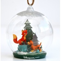 Disney Copper and Tod Decoration Christmas Bauble