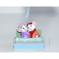 Disney the Rescuers Bianca and Bernard sardines boat