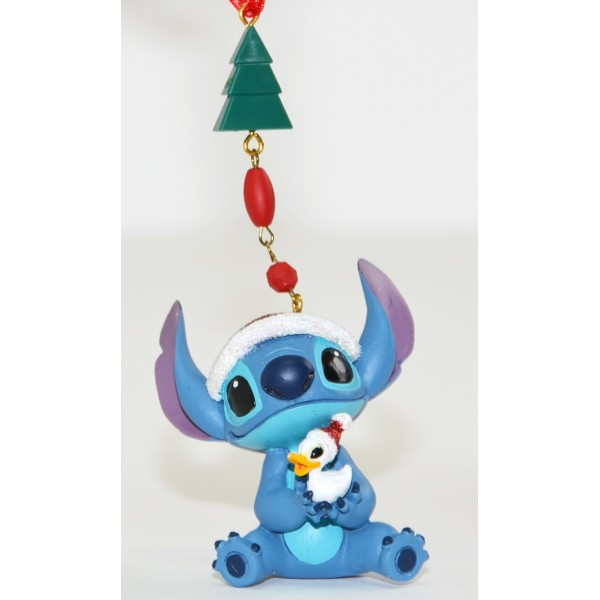 Disney Stitch Christmas Dangler Decoration, Disneyland Paris