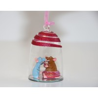 Disney Emile and Remy Bauble Ornament