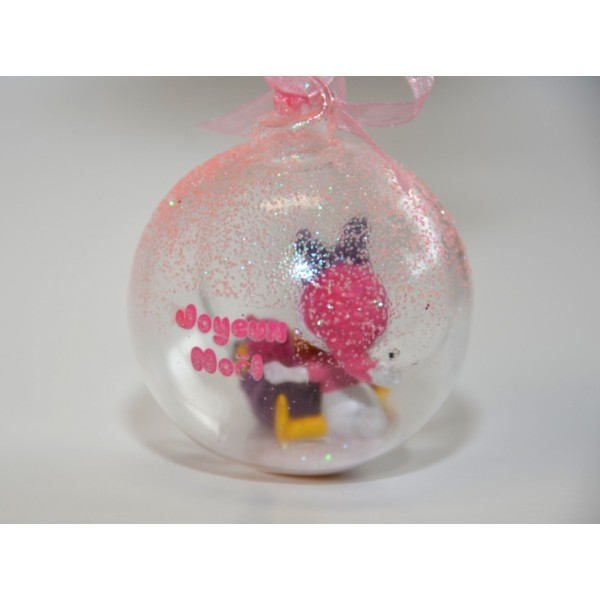 Disney Baby Daisy Duck in a Christmas bauble