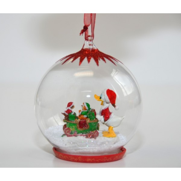 Disney Donald Duck Christmas Bauble Ornament
